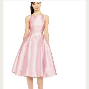 Adrianna Papell Mikado Fit & Flare Midi Dress